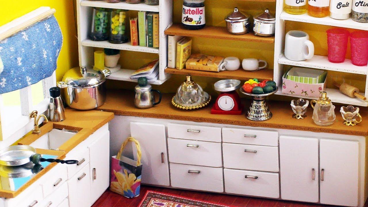 kitchen miniature moen sink faucets 10 easy diy miniatures things each in less than 1 minute simplekidscrafts