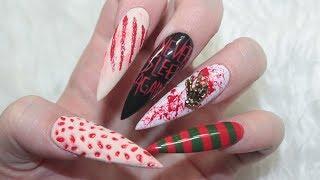🔪 3d Freddy Krueger Nails 🧠