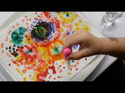 Simple Colourful Art Project For Kids