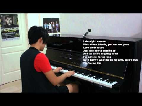 "One Direction ""Right Now"" Piano Cover (W/ Lyrics) by Claire Low - Karaoke Acoustic"