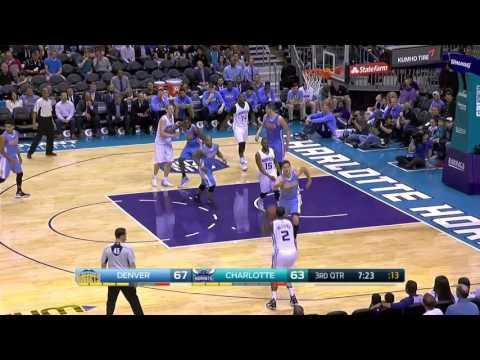 Denver Nuggets vs Charlotte Hornets    FULL HIGHLIGHTS    Mar 31, 2017    NBA