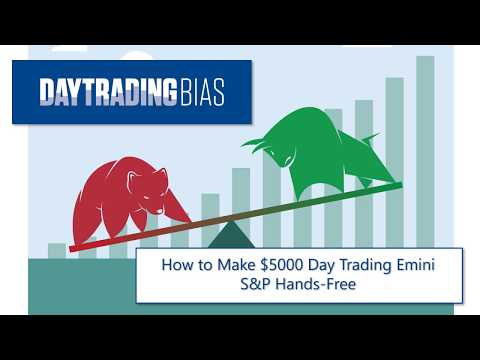How to Make $5000 Day Trading Emini S&P Hands-Free
