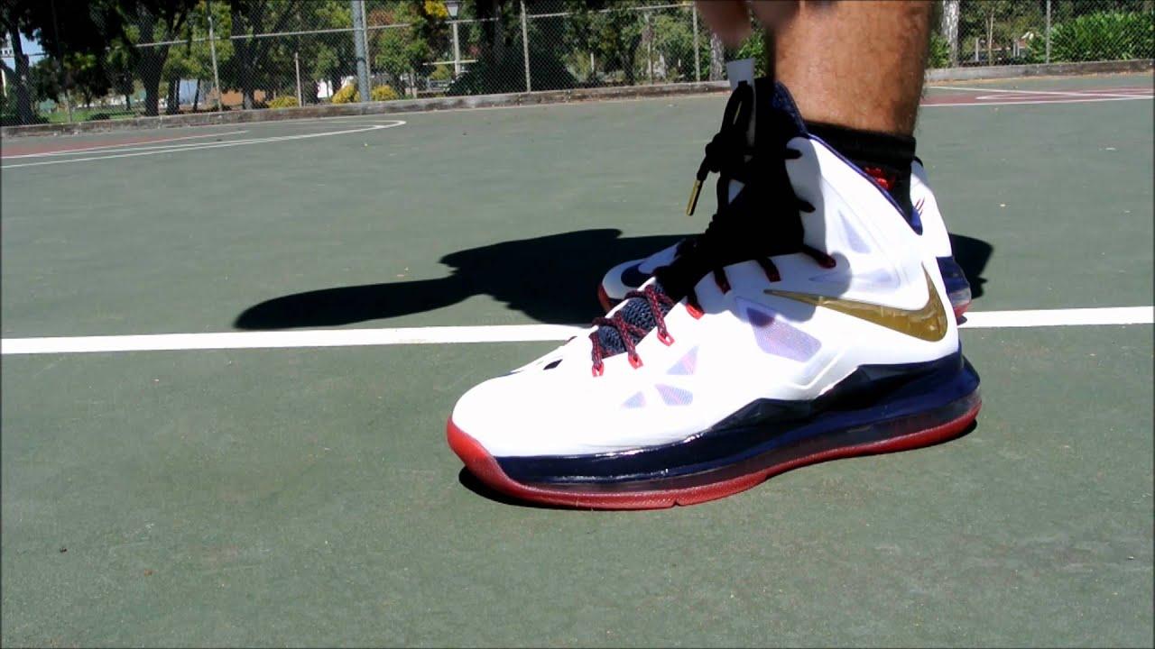 360670290cd6 Nike LeBron X (10) Performance Review - YouTube