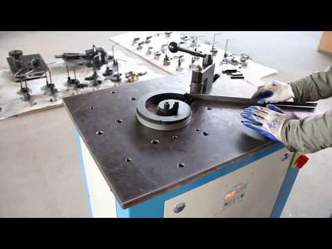 DH-DW16E Wrought Iron Flat Steel Scroll Bending Machine Metal Scroll Bender