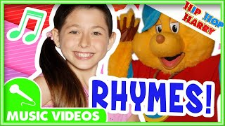 Rhyming Words Song | Kids Song Compilation | Hip Hop Harry