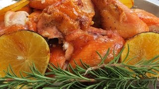 Glazed Roasted Chickens -- The Frugal Chef