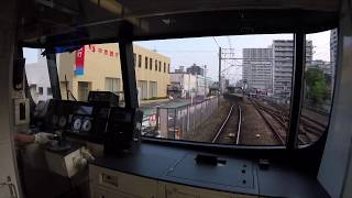 名鉄2018普通犬山行き593レ②【徳重・名古屋芸大~犬山駅間】