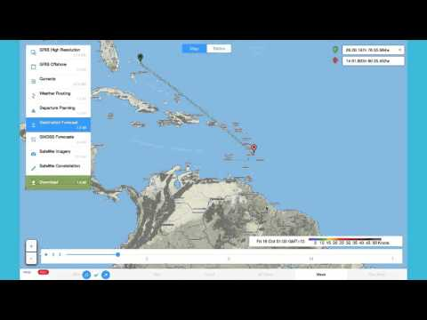 Offshore App - How to Download and View Destination Forecast