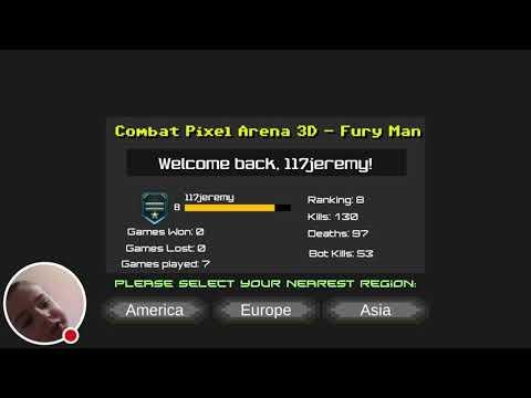 My Combat Pixel Arena 3D - FURY MAN Stream