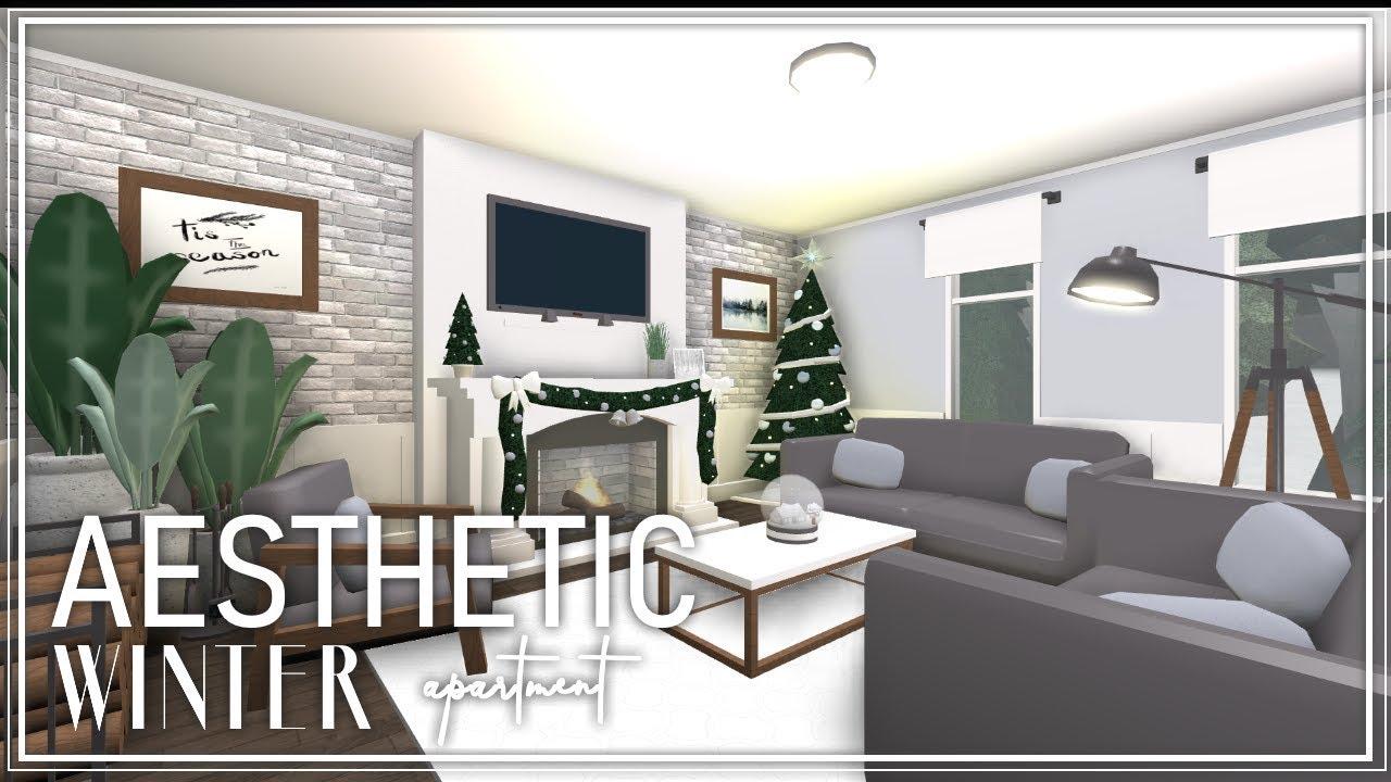 Welcome To Bloxburg: Aesthetic Winter Apartment