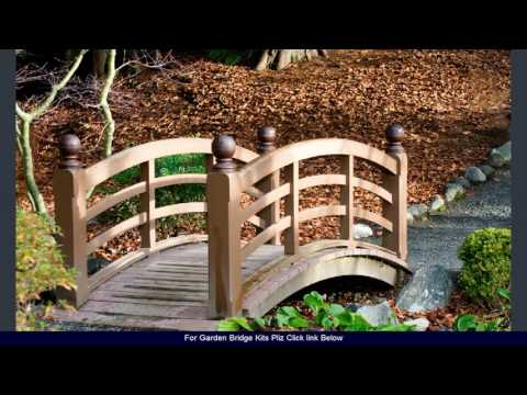 Garden Bridge Kits - 2017 designs