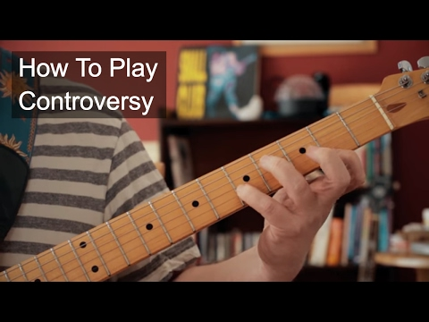 Controversy Prince Guitar Tutorial
