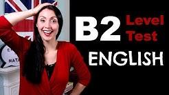 B2 Level English Test