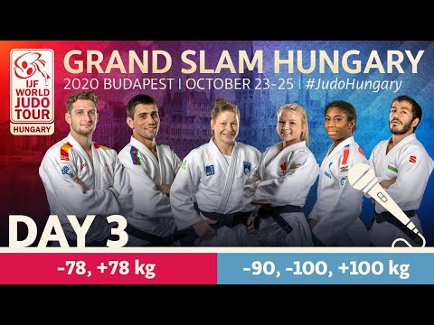 Grand Slam Hungary 2020 - Day 3: English Commentary