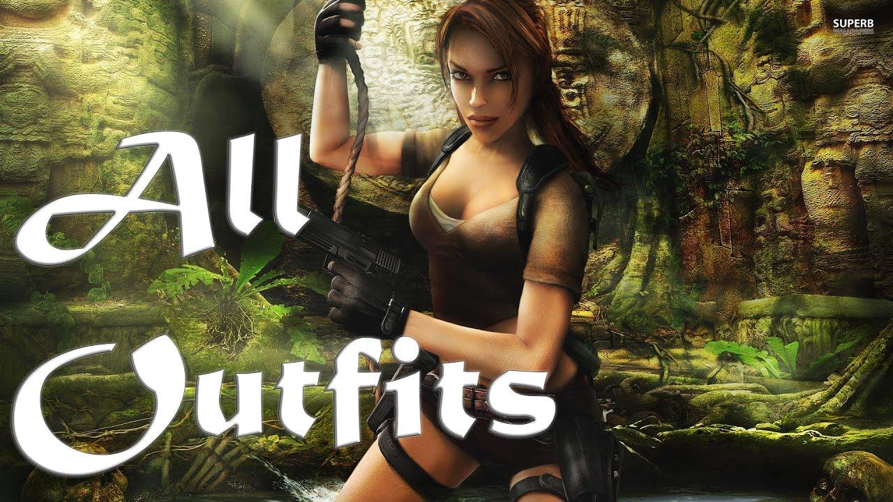 Lara Croft Tomb Raider Legend All Outfits Costumes Ps3 Xbox360 Pc