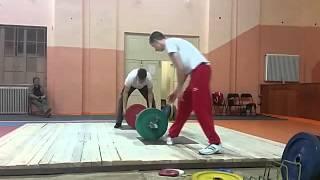 "1st Memorial tournament ""Stevan Gromilovic Pista"" Group 2 - Snatch"