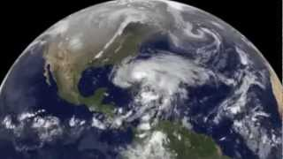 Hurricane Sandy: From Birth to Landfall | NASA GOES Satellite | Tropical Cyclone Storm Video