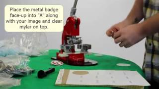 Button Maker Press How-To - Commercial Bargains Inc