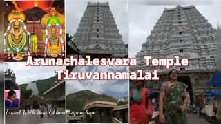 Arunachaleshwara Temple, Thiruvannamalai,Tamil Nadu Travel Vlog / అగ్నిలింగం అరుణాచలేశ్వర దర్శనం