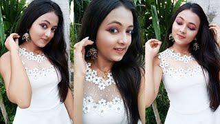 Nude Makeup Tutorial 😍 || Sparkling Twinkle ||  #makeupvideo #makeuptutorial