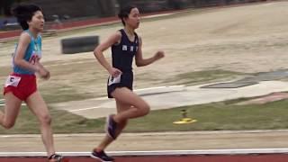 平成30年度 第1回京都産業大学長距離競技会 女子800m 2018.04.14 於:京...