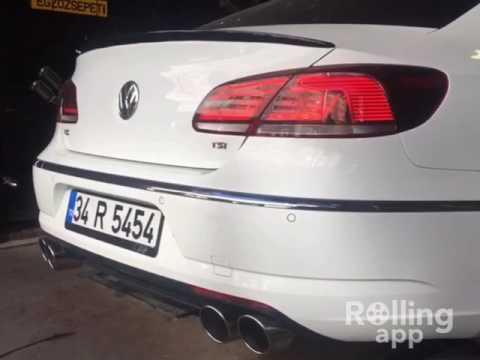 Volkswagen Passat CC 2.0 Tsi Kumandali Varex Egzoz Sesi