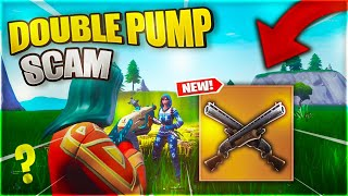 The Double Pump Scam For His Whole Inventory! (Scammer Gets Scammed) In Fortnite Save The World Pve