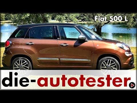 Fiat 500l 2018 Test Fahrbericht Mit Dem Italienischen Minivan Auto Deutsch