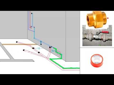 Como instalar la tuberia para ba o explicado paso a paso for Como poner una llave de regadera