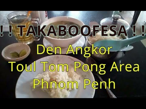 Takaboofesa #1 Den Angkor Restaurant, Toul Tom Pong, Phnom Penh