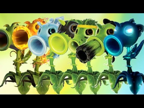 Plants Vs Zombies Garden Warfare 2 Todos los Guisantes del J