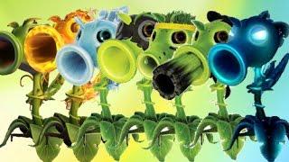 Plants Vs Zombies Garden Warfare 2 Todos los Guisantes del Juego