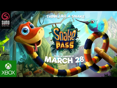Snake Pass - Xbox Release Date Trailer (2017)