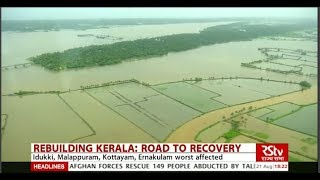 What caused flooding in Kerala?