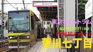 東京さくらトラム 小さな電車でおさんぽ日和 荒川七丁目停留場