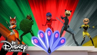 Miraculous Ladybug | All the Transformations So Far! 😱 | Disney Channel UK