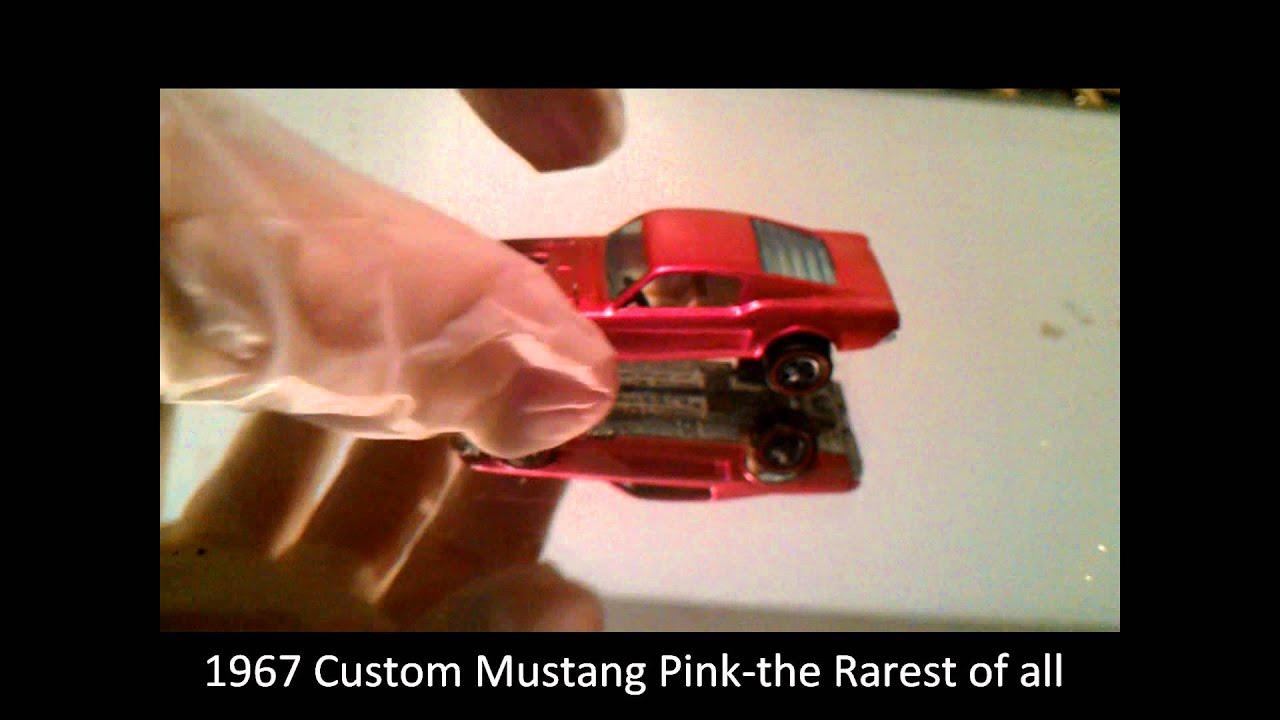 the rarest hot wheel ever 1967 custom mustang pink hot wheel redline by curtis wasilewski - Rare Hot Wheels Cars 2012