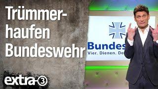 Trümmerhaufen Bundeswehr