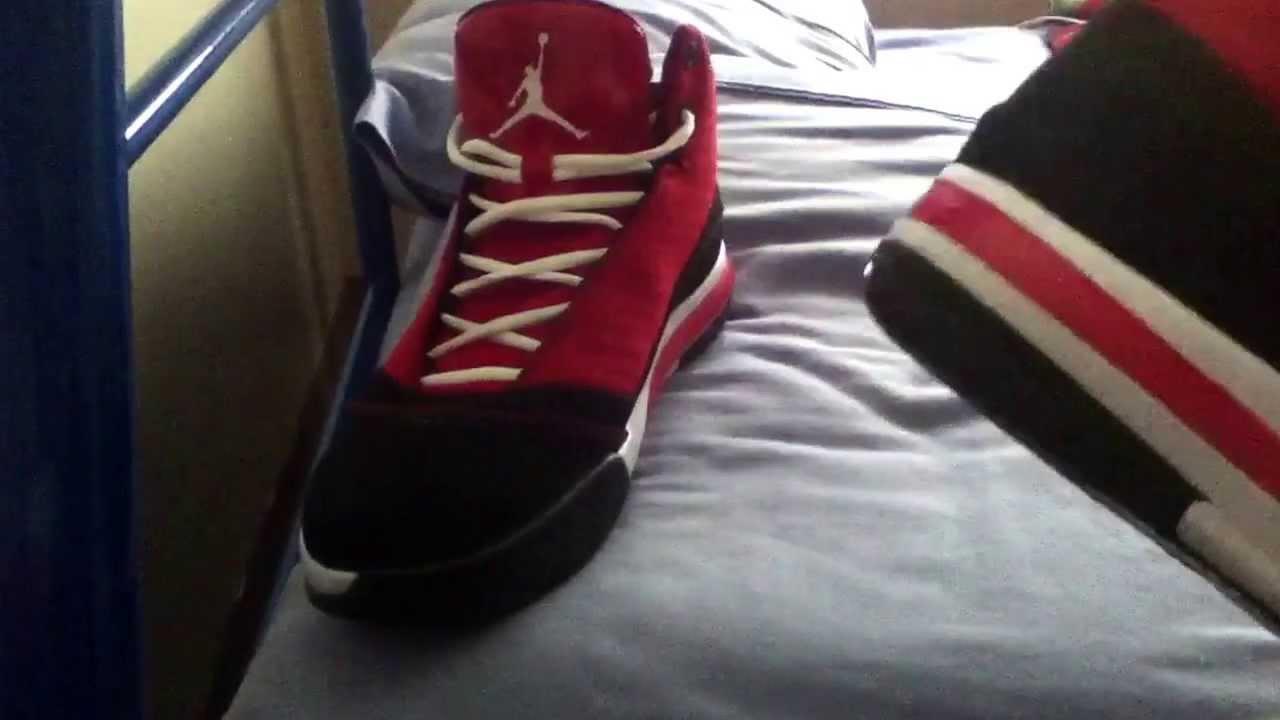 new arrival 52c13 77cb3 Unboxing Red Jordan B Mo - YouTube