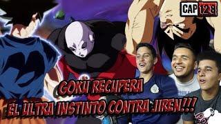 EL ULTRA INSTINTO REGRESA Y EL ORGULLO DE VEGETA!!! REACCION - DRAGON BALL SUPER CAPITULO 128