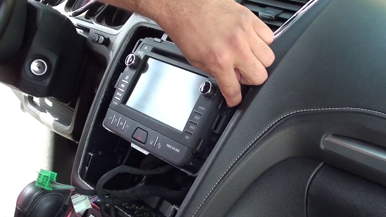 How To Remove Factory Stereo Chevy Traverse 2013