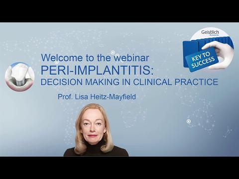 Geistlich Webinar_Peri-Implantitis-Prof  Lisa Heitz-Mayfield