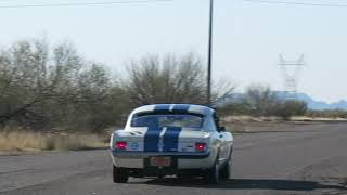 1965 Shelby Mustang GT350 R Clone Racer - Fly-By Video