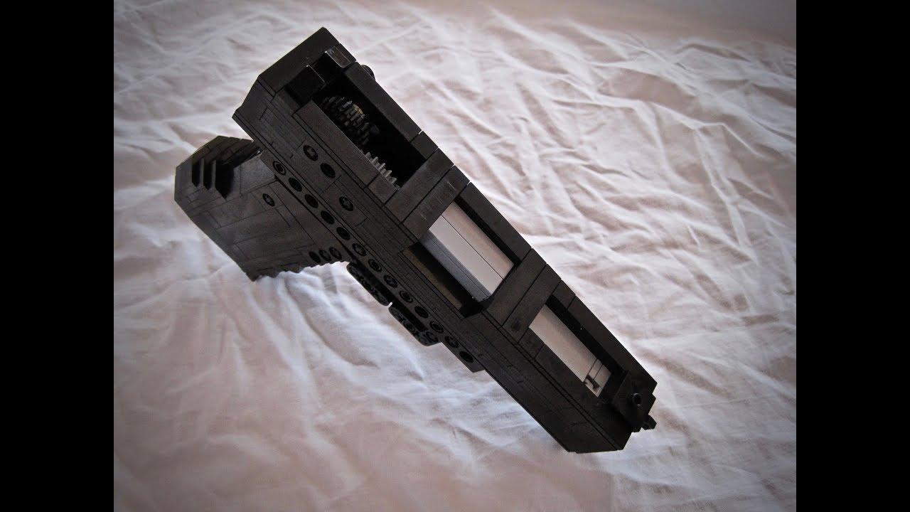 LEGO GLOCK 18 [FULL AUTO BLOWBACK RBG]