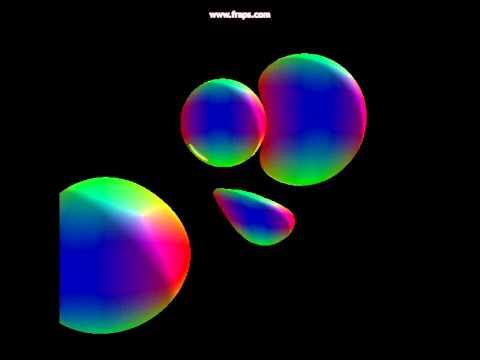 4D Sphere Tracer