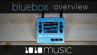 Bluebox Digital Mixer Overview by 1010Music