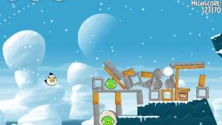 Angry Birds Seasons 4 Level 1-20 Arctic Eggspedition 3 Star Walkthrough