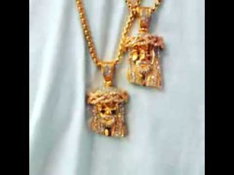 Gold mini jesus head sale xtraandco youtube aloadofball Image collections
