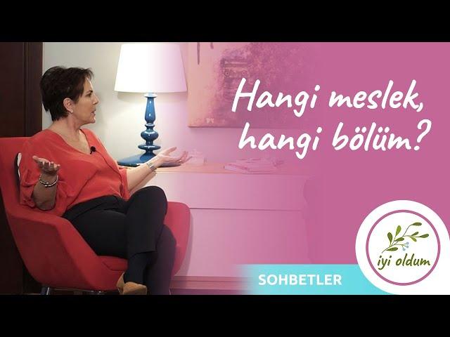 HANGİ MESLEK, HANGİ BÖLÜM? | Sohbetler | Onur Yar - Yasemin Conker