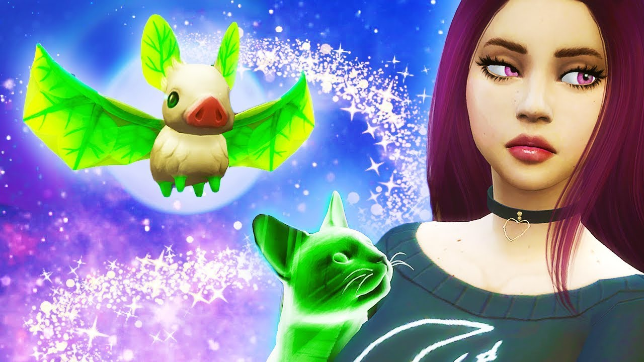 DON'T TOUCH ME OR MY BABIES EVER AGAIN 🐱 // The Sims 4: Realm Of Magic #3 thumbnail
